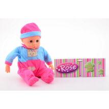 Rose újszülött baba 45 cm  - JOHNTOY