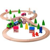 Fa vonat szett WOODY 91121