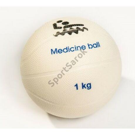 PVC medicinlabda, vízben úszó, 1 kg PLASTO - SportSarok