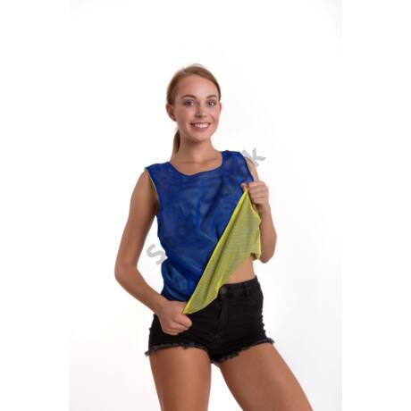 Jelölőmez, kifordítható, kék-sárga - L méret VINEX - SportSarok