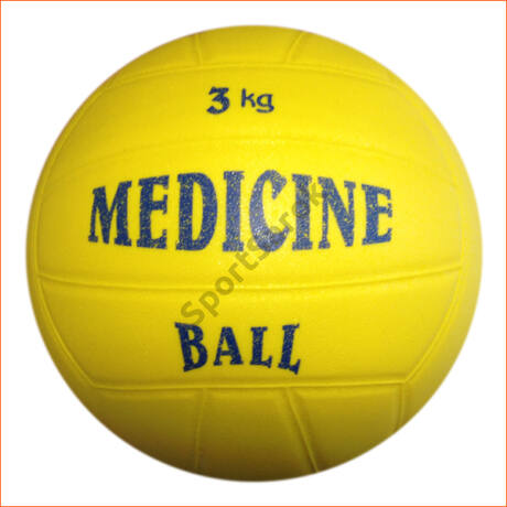 PVC medicinlabda, 3 kg PLASTO - SportSarok