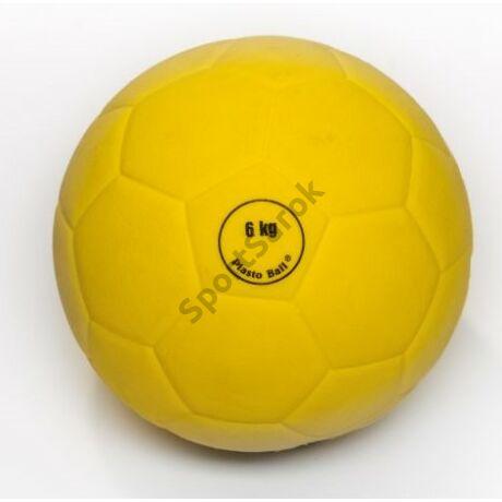 Súlylökő golyó, tornatermi - 6 kg PLASTO - SportSarok