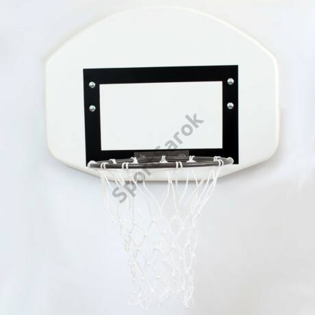 Kosárlabdapalánk, óvodai, 60 x 45 cm gyűrűvel, hálóval kompletten,bordásfalra S-SPORT - SportSarok