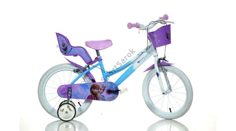 Gyerek kerékpár 14 colos - DINO BIKES FROZEN - 14 colos kerékpár ... 25ac8a3fc5